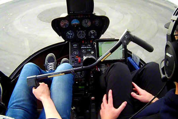 hubschrauber rundflug selber fliegen muenchen r44 robinson